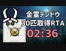 【世界最速】金霊テントウ30匹取得RTA 2:36【MHRise】