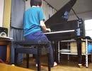 【デスクリムゾン】タイトルBGMをピアノで弾いてみた【ピアノ】