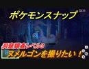 ポケモンスナップ ヌメルゴンを撮りたい!洞窟調査レベル3 【New ポケモンスナップ】
