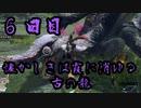 蝦夷のモンハン日記 6日目【モンハンライズ実況】