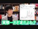 第97位:高橋洋一氏の「さざ波」ツイートに批判殺到ですが…でも実際さざ波ですからね