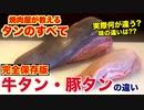 【牛タン・豚タンの違い】焼肉屋がその疑問解決します!!