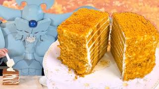 はちみつケーキを作るオベリスクの巨神兵