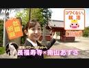 [就活応援] 南山あずささんと長福寿寺へ行ってみた~いつでもできる就職祈願~ | コワくない。就活 | NHK