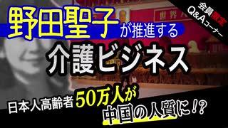 野田聖子が「高齢者の中国移住」を推進⁉