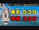 東京539、沖縄335 ボギー大佐の言いたい放題 2021年05月29日 21時頃 放送分