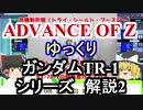 ガンダムTR-1 解説2【ADVANCE OF Ζ】part2【ガンダム解説】