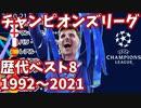UEFAチャンピオンズリーグ歴代ベスト8の推移 1992-2021【欧州サッカー】