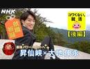 [就活応援] 大地伸永さんと昇仙峡 パワースポットで就職祈願 中村悠一さんナレーション版 | コワくない。就活 | NHK