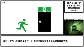 【ゆっくり紹介】SCP-1470-JP【サイト-81VAの緊急避難経路】
