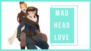 【APヘタリアMMD】MAD HEAD LOVE+おまけ