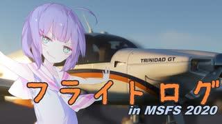 フライトログ in MSFS2020