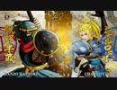 Steam版サムライスピリッツ オンライン対戦の様子。