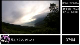 【結月ゆかり】弁天山・エビ山縦走58分30