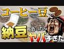 【ゆっくり実験】コーヒー豆で納豆を作ったらヤバすぎた!【サイエンスクッキング #3】
