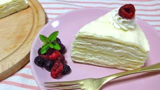 【アレルギー対応】焼かないミルクレープ&バーナー無しクレームブリュレ【卵・小麦粉不使用】