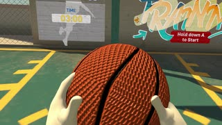 『VRバスケットボール』で、世界一くだら