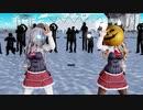 【Ray-mmd】 マスクを付けたザラ姉妹がコスプレイベント会場でKILLER B