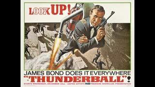 1965年12月11日 洋画 007 サンダーボール作戦(第4作) 主題歌 「Thunderball」(トム・ジョーンズ)