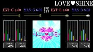 【GITADORA】LOVE♡SHINE【HIGH-VOLTAGE】