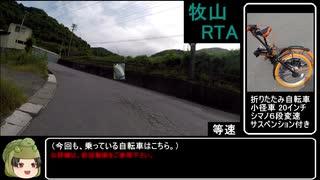 【RTA】牧山(まぎやま)リアル登山アタッ