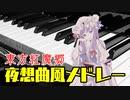 【東方ピアノ】東方紅魔郷夜想曲風メドレー【自作アレンジ】