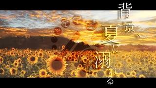 【人力刀剣乱舞】背/景、夏/に溺/れる【山