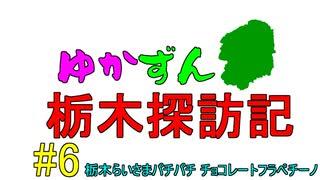 【ゆかずん車載】ゆかずん栃木探訪記#6【V