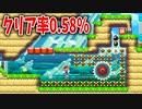 【マリオメーカー2】クリア率0.58%!これ解ける!?