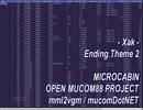 【Xak】【PC88 OPNA/B OPM】Xak Ending Theme 2 サーク・エンディング 2