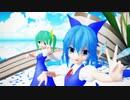 【Ray-MMD】うちゅうだいばくはつ【ゆきはね式チルノ・大妖精】