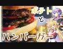 ゆかマキ仲良し晩ごはん#2 【ハンバーガー】