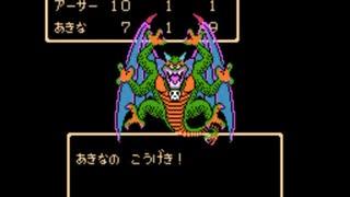 【TAS】FC版ドラクエ2_最少戦闘勝利数クリ
