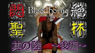 悶絶聖杯.其の陸kouhen【Bloodborne】