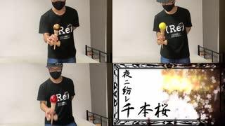 『【けん玉で】千本桜 演奏してみた【ボカコレ2021秋】』のサムネイル