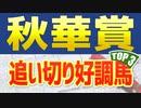 「秋華賞2021予想」追い切りと調教が絶好調だったTOP3を公開!!