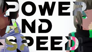 『【アニメーションMV】Power and Speed / Saki AI』のサムネイル