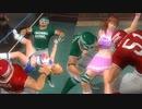 【DOA5 ryona】ティナ&かすみ ryona vs バース&バイマン