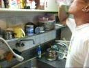 パンツマンの麦茶。