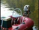 2.8mの手漕ぎゴムボートを改造してみた。
