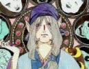 【のっぺらぼう】薬売りさんをミュシャ風に描いてみた【水彩】