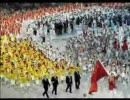 6分で振り返る北京オリンピック開会式のBGMを変えてみた