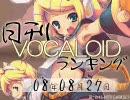 日刊VOCALOIDランキング 2008年8月27日 #199