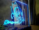 【ニコニコ動画】【LED】 LEDの使い方 + アクリルスタンドの作り方 【DIY】を解析してみた