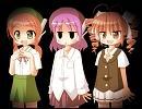 【UTAU】モモ、デフォ子、テトさんにミク
