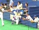 20080831 ドアラデー 試合前 平田選手とおしゃべり+パオロンとビョン