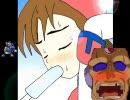 ロックマンX ゼERO アイリスがアイスキャンディを舐め続ける動画