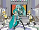 【MikuMikuDance】「GO MY WAY!!」を歌って踊る初音ミクとリン&レン