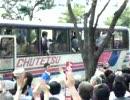 自民党総裁選挙候補者の街頭演説・候補者を見送り@岡山駅前
