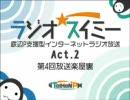 【ラジオ★スイミー】Act.2 第4回放送後楽屋裏【gdgdトーク】